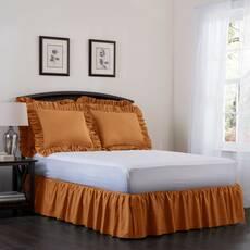 Підзор на ліжко Рюші Модель 7 Медовий