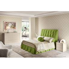 Подзор для кровати Складки Модель 3 Салатовый