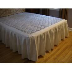 Підзор для ліжка Складки Модель 4 Білий