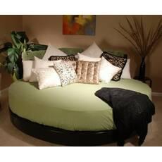 Простирадл на Кругле ліжко Модель 2 Олів
