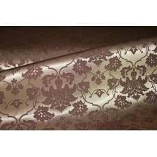 Столова тканина преміум класу маті (мал. 12), королівський шоколадний з бежевим