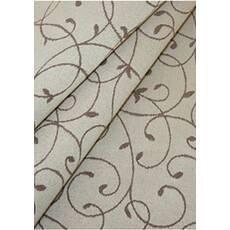 Столова тканина преміум класу маті (мал. 4), ніжність, бежева з коричневим