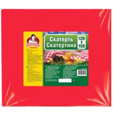 """Скатерть полиэтиленовая для пикника ТМ """"Помощница"""" 1,2м х 1,5м  разноцвет."""