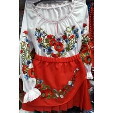 Вишитий костюм для дівчинки - Товари - Купити стильні сукні ... 31afeb513a5c4