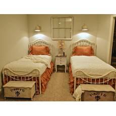 Подзор на кровать Рюши Модель 5 Медовый