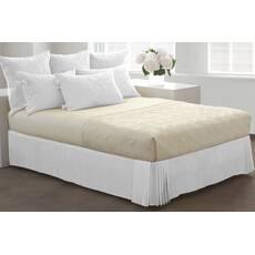 Спідниця для ліжка Біла Модель 1 строгий Мodern