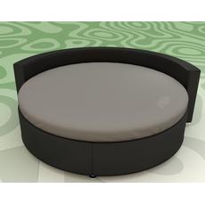 Кругле простирадло на ліжко Модель 2 Порох