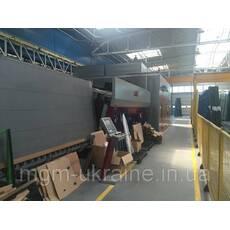 Пропозиція Lisec піч загартування, вотерджет, робот KSR і миття 2012 рік
