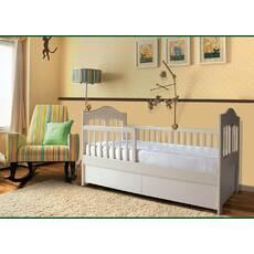 Детская деревянная кроватка с ящиками