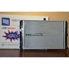 Радіатор охолодження 2108 алюм Лузар Sport