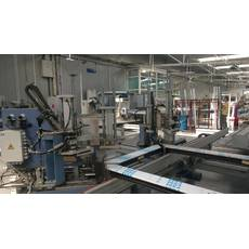 Зварювально-зачисна лінія Rotox з обробляючим центром ZOR Rotox