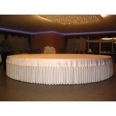 Фуршетная юбка Модель 5 Белый