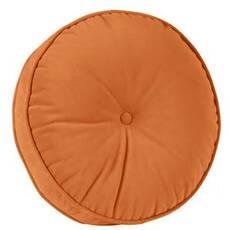 Декоративная подушка, модель 1, круглая, Медовая