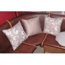 Декоративная подушка квадратная Марселла+Порох