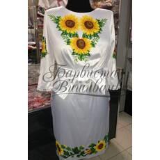 "Вишита сукня ""Соняшники"" ПЛ 012"