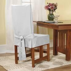 Чохол на стілець модель 2 Білий