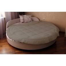 Покривало на кругле ліжко з бортом модель 2 Порох