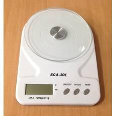 Ваги кухонні електронні SCA-301, 7 кг