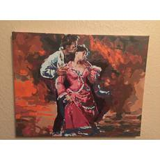 Картина «Пристрасть» полотно