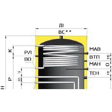 Бойлер ВТ-01-400