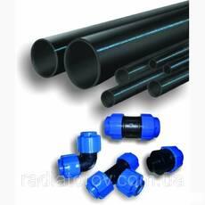 Труби поліетиленові ø32 PN8 SDR 17,6 для водопостачання