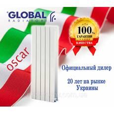 Вертикальні радіатори Global Oscar 1800/100 (Італія)