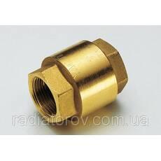 Зворотний клапан 1/2'' Tiemme, металевий затвор Італія