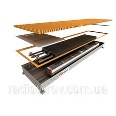 Внутрипольные конвекторы Polvax KEМ.380.2750.90/120 с двумя теплообменниками