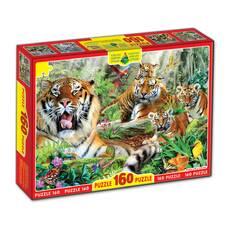 Пазли 160, Тигри