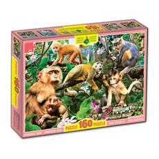 Пазли 160, Мавпи