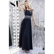 387a7e52d537f9 Платье в пол 31433 (тёмно - синий) - Товари - Замовити речі через ...