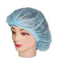 Одноразова шапочка з подвійною резинкою, флізелін купити в Житомирі
