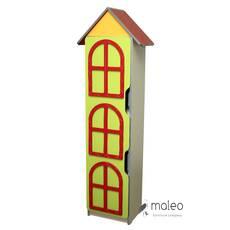 Стенка детская Цветочная поляна №8 Башня с дверью