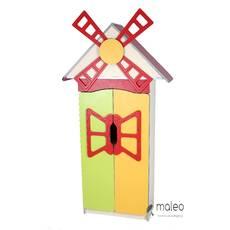Стенка детская Цветочная поляна №9 Мельница с дверью