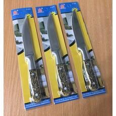 Нож кухонный на планшете, костяная ручка 20 см / 3511