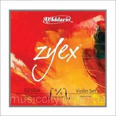 Струни для скрипки D'Addario DZ310A 4/4M Zyex
