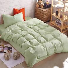 Подростковый комплект постельного белья Оливковый Премиум