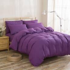 Підлітковий комплект постільної білизни Фіолетовий Преміум