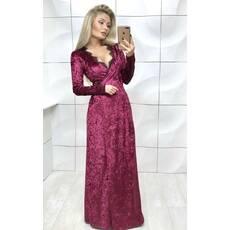 платье бархатное в пол .№333  (АБ)