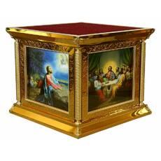 ПРЕСТОЛ 130х130 см чеканка иконы литография купить в Ровно