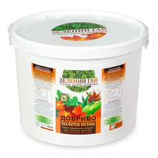 "Удобрение ""Зелений гай"" для газона, ведро 10 кг"