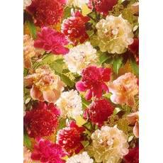 Подарунковий квітковий папір 42