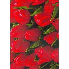 Подарунковий квітковий папір 43