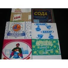 Упаковка для харчових продуктів групи Бакалія