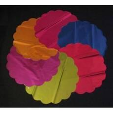 Салфетка металлизированная цветная