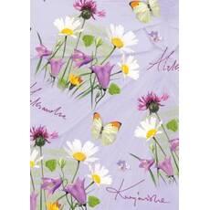 Подарунковий квітковий папір 46
