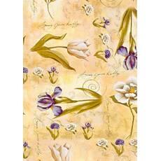 Цветочная бумага 48