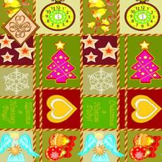 Салфетка ТМ Luxy 33х33, Новогодний коврик