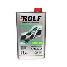 Мастило моторне ROLF ENERGY 10W-40 SL/CF 1 літр   322232