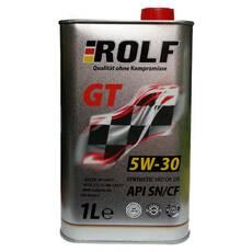 Масло моторное 5W-30 Rolf GT SN/CF 1л синтетическое